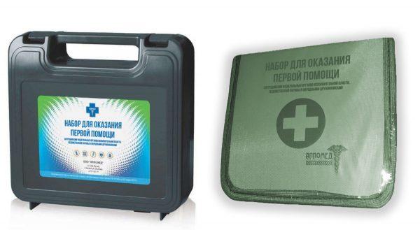 Аптечки для оказания первой помощи по приказу 333н